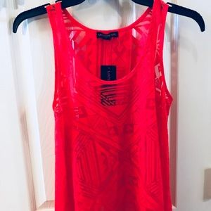 Material girl XS red top